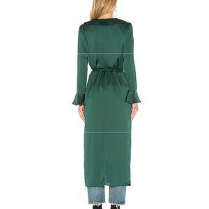 Tularosa Jackets & Coats - Maxi Length Kimono Style Robe/Duster